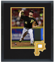 Gerrit Cole 2015 Pittsburgh Pirates - 11 x 14 Team Logo Matted/Framed Photo - $43.55