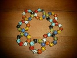 Glass Balls  & Wire Napkin Rings - $15.00