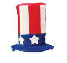 Patriotic 4th of July Uncle Sam Top Hat - $9.99