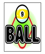 9 Ball-Digital Download-ClipArt-ArtClip-Digital  - $4.00