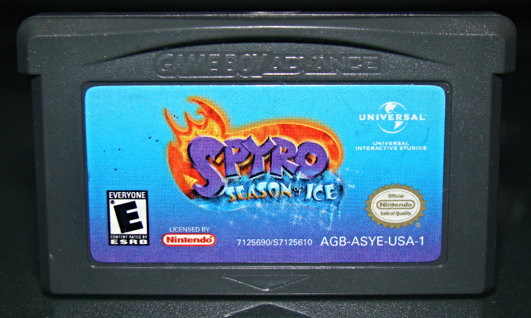 GAME BOY ADVANCE - SPYRO SEASON of ICE (Game Only) image 2