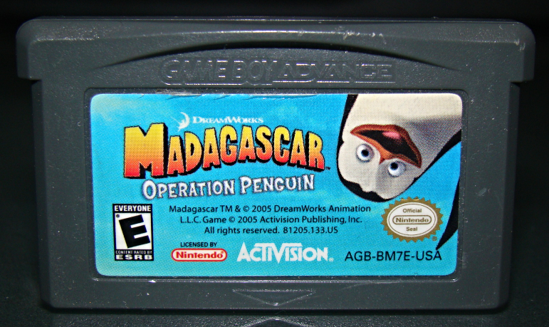 Primary image for GAME BOY ADVANCE - DREAM WORKS -  MADAGASCAR OPERATION PENGUIN (Game Only)
