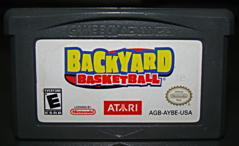 Primary image for GAME BOY ADVANCE - BACKYARD BASKETBALL (Game Only)