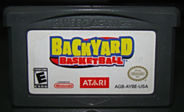 GAME BOY ADVANCE - BACKYARD BASKETBALL (Game Only) - $10.00