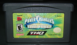 Game Boy Advance   Power Rangers Time Force (Game Only) - $6.25