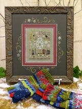 Stone Snowman Kit cross stitch kit Shepherd's Bush - $30.00
