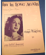 """Vintage Sheet Music - 1925 -""""I'm In Love Again"""" by Cole Porter   #7686 - $5.99"""
