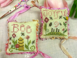 Be Joyful Fob Kit cross stitch kit Shepherd's Bush - $16.00