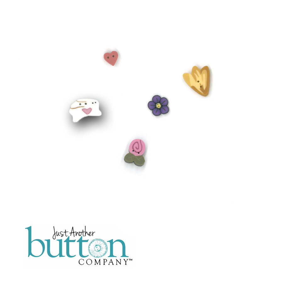 Spring trifles button pack