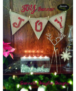 Joy Banner cross stitch chart Jeanette Douglas ... - $9.90