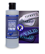 8oz Indistrial Bright BLUE Blacklight Reactive Invisible Ink - $17.95