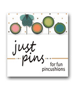 Butterfly Dots Just Pins JP179 set 5 for pincushions Just Another Button Co - $13.95