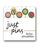 Butterfly Dots Just Pins JP181 set 5 for pincushions Just Another Button Co - $13.95