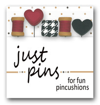 Stitch and Sew Just Pins JP178 set 5 for pincushions Just Another Button Co - $13.95