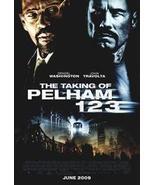 The Taking Of Pelham 123 27 x 40 Original Movie Poster 2009 - $14.95