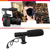 Camera Accessories Sidande Mic-01 Digital Video DV Camera Studio Stereo ... - $18.00