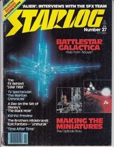 Starlog #27 [Paperback] by - €10,38 EUR