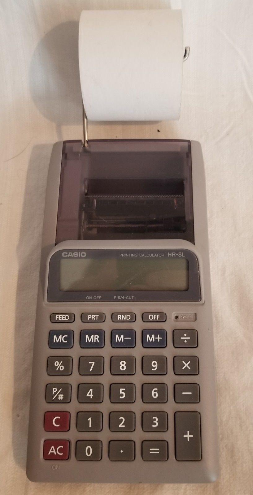 casio printing calculator