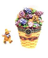 "Boyds Treasure Box""Collector's Club May Series Lilac Basket"" #392184LB- ... - $49.99"
