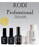 Kodi - Gel LED/UV Cleanser / Rubber Base / Rubber Top / Nail fresher / m... - $7.91+