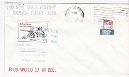 USA NEXT SPACE ADVENTURE SKYLAB-APOLLO 17 USPS, TX & CONFAIR LOCAL POST ... - $1.98