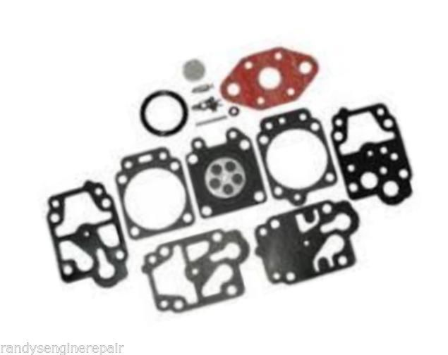 Carb carburetor rebuild kit for Troy Bilt Walbro K20 WYL, 4 cycle string trimmer