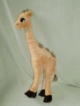 "Manhattan Toy, 18"" Giraffe standing plush DOLL TOY STUFFED EUC, 2003 PLUSH - $15.04"