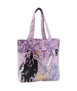 HANNAH MONTANA Star Foil Book Tote Hand Bag NEW - $29.99