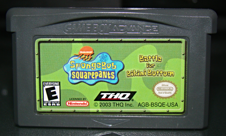 Primary image for GAME BOY ADVANCE - Sponge Bob SQUARE PANTS Battle for Bikini Bottom (Game Only)