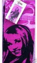 Disney Hannah Montana New Plush Hot Pink Beach Bath Towel Miley Cyrus - $19.99