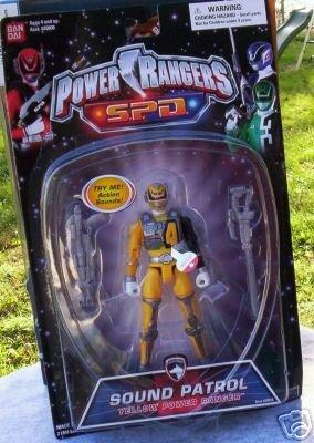 Power Rangers SPD YELLOW Sound Space Patrol Delta NEW Action Figure Bandai