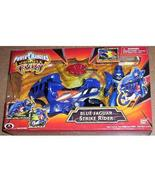 Power Rangers Jungle Fury NEW JAGUAR Blue Action Figure and Cycle RARE - $34.99