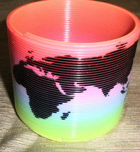 CE Plastic Rainbow Magic Spring Slinky #CS-C0180 / #FD-85 - $7.92