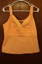 Axcess Liz Claiborne Orange Tank Top - Size 10 - $5.99