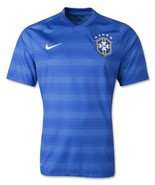 Nike Brazil Away Soccer Jersey World Cup 2014 Style 575282-493 Mens Large - €75,02 EUR