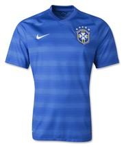 Nike Brasil Away Soccer Jersey World Cup 2014 Style 575282-493 Mens Medium - $85.00