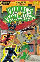 Eclipse VILLAINS & VIGILANTES #3 FN/VF - $0.79
