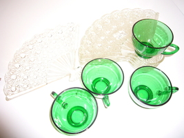 Set of 4 Anchor Hocking Snack Set Daisy/Button ... - $49.99