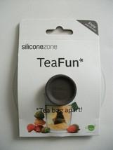 Siliconezone Tea Fun Brown Tea Bag Buddy Holder... - $6.99