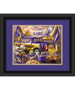 "LSU Tigers ""Tailgate Celebration"" -15 x 18 Framed Photo - $39.95"