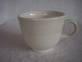 Fiesta White Coffee Cup Fiestaware Contemporary - $10.95
