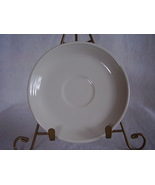 Fiesta White Saucer Fiesta Contemporary - $10.95