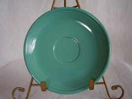 Fiesta Turquoise Teacup Saucer Fiestaware Contemporary - $10.95