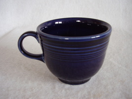 Fiesta Cobalt Coffee Cup Fiestaware Contemporary - $10.95