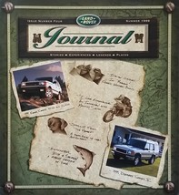 1999 LAND ROVER JOURNAL brochure catalog magazine ISSUE 4 Range Discovery - $12.00