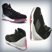 MENS Nike Air Jordan Flight Remix Black/ Grey Wolf/ Fusion Pink 679680-081 - $119.95