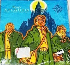 Atlantis: The Lost Empire Party Lunch Napkins 16 Count - $9.85