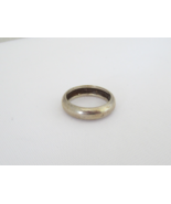 Vintage Sterling Silver Band Ring Size 5.5 - $17.00