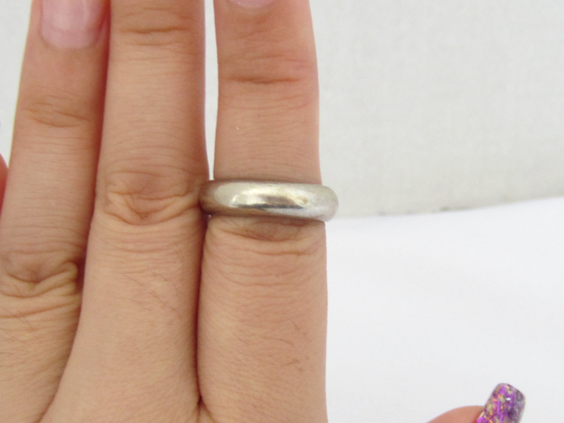 Vintage Sterling Silver Band Ring Size 5.5