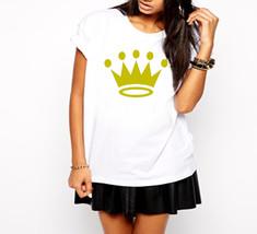 Gold Crown Ladies T-Shirt - $12.00+